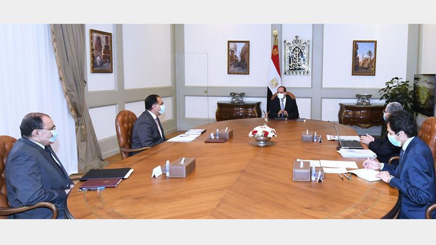 الرئيس عبد الفتاح السيسي يتابع المشروعات القومية لوزارة الكهرباء على مستوى الجمهورية