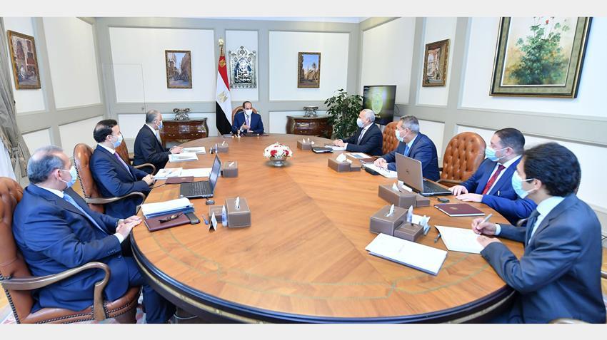 الرئيس عبد الفتاح السيسي يتابع نشاط القطاع المصرفي للدولة