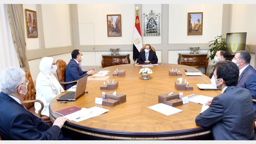 الرئيس عبد الفتاح السيسي يوجه بتقديم الدعم للتوسع في عمليات زراعة الكلى