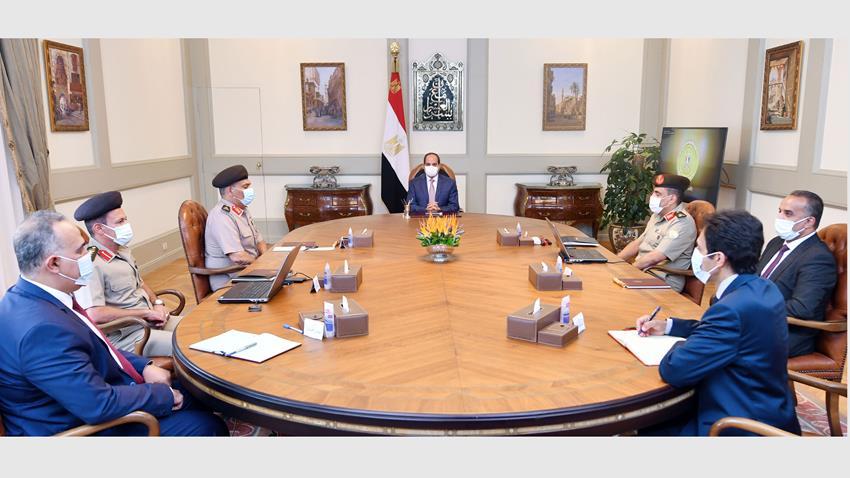 الرئيس عبد الفتاح السيسي يتابع جهود ترميم وتجديد مقامات وأضرحة آل البيت