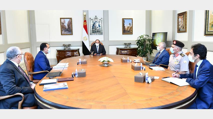 الرئيس عبد الفتاح السيسي يوجه بالتوسع في مشروع إنتاج البذور محليًا في مصر