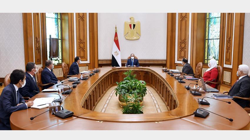 الرئيس عبد الفتاح السيسي يوجه بتعزيز منظومة دعم العاملين بمجال الفن