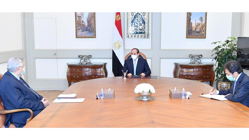 الرئيس عبد الفتاح السيسي يتابع مستجدات المبادرات الرئاسية في قطاع الصحة على مستوى الجمهورية