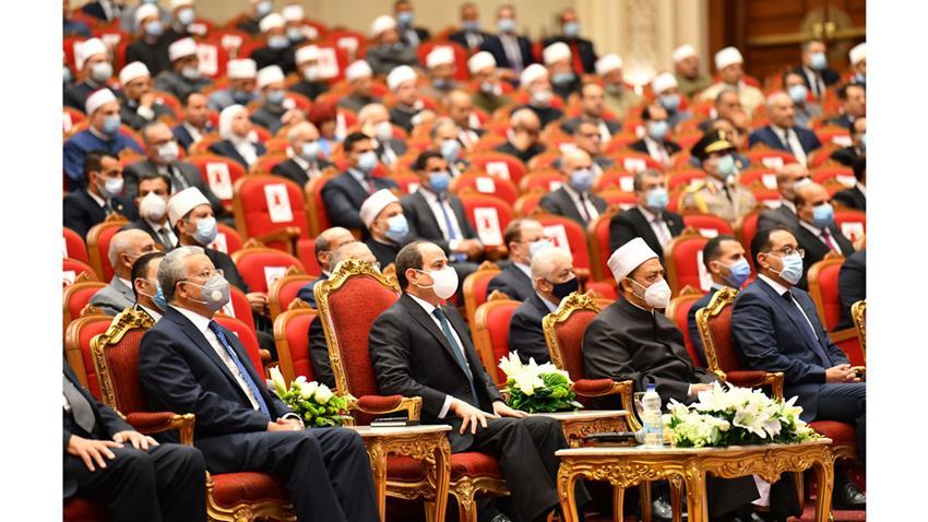 الرئيس عبد الفتاح السيسي يشهد الاحتفال بذكرى المولد النبوي الشريف