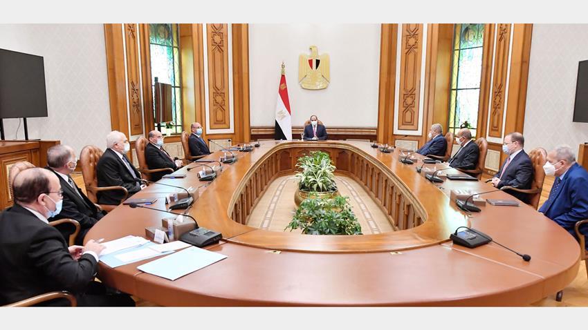 الرئيس عبد الفتاح السيسي يترأس اجتماع المجلس الأعلى للهيئات القضائية