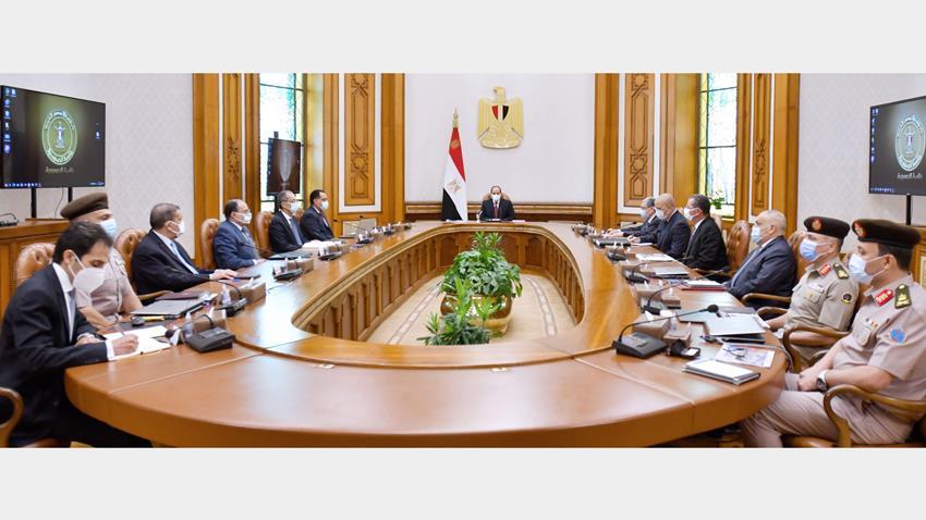الرئيس عبد الفتاح السيسي يتابع الموقف التنفيذي للبنية الأساسية الخاصة بالعاصمة الإدارية الجديدة