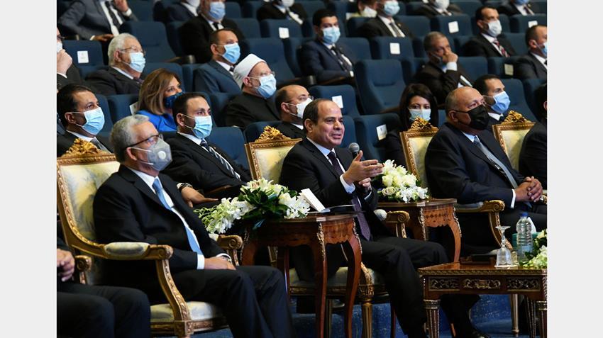 الرئيس عبد الفتاح السيسي يطلق الاستراتيجية الوطنية لحقوق الإنسان