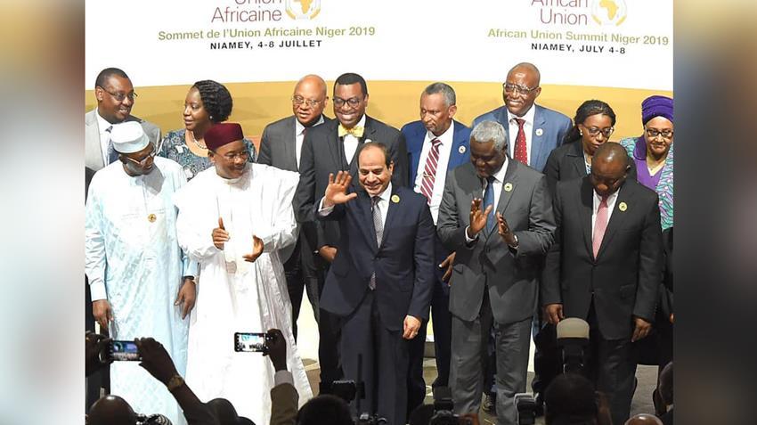 الرئيس عبد الفتاح السيسي يترأس أعمال القمة التنسيقية المصغرة الأولى من نوعها للاتحاد الأفريقي