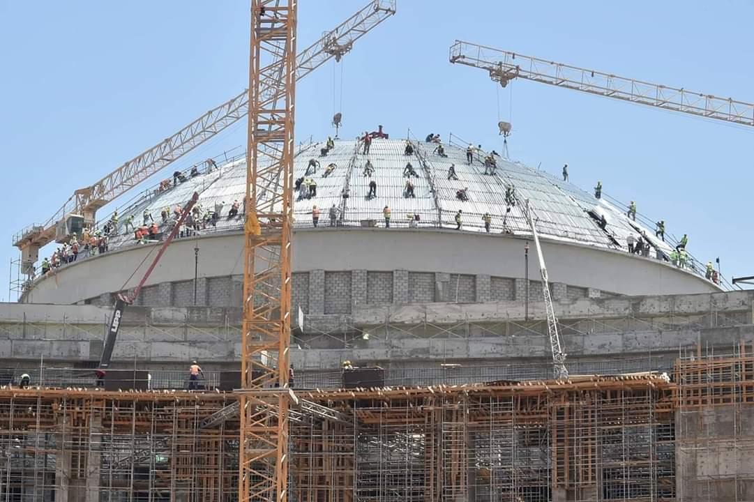 متابعة لـموقع انشاء مشروع مبنى مجلس النواب بالعاصمة الإدارية الجديدة