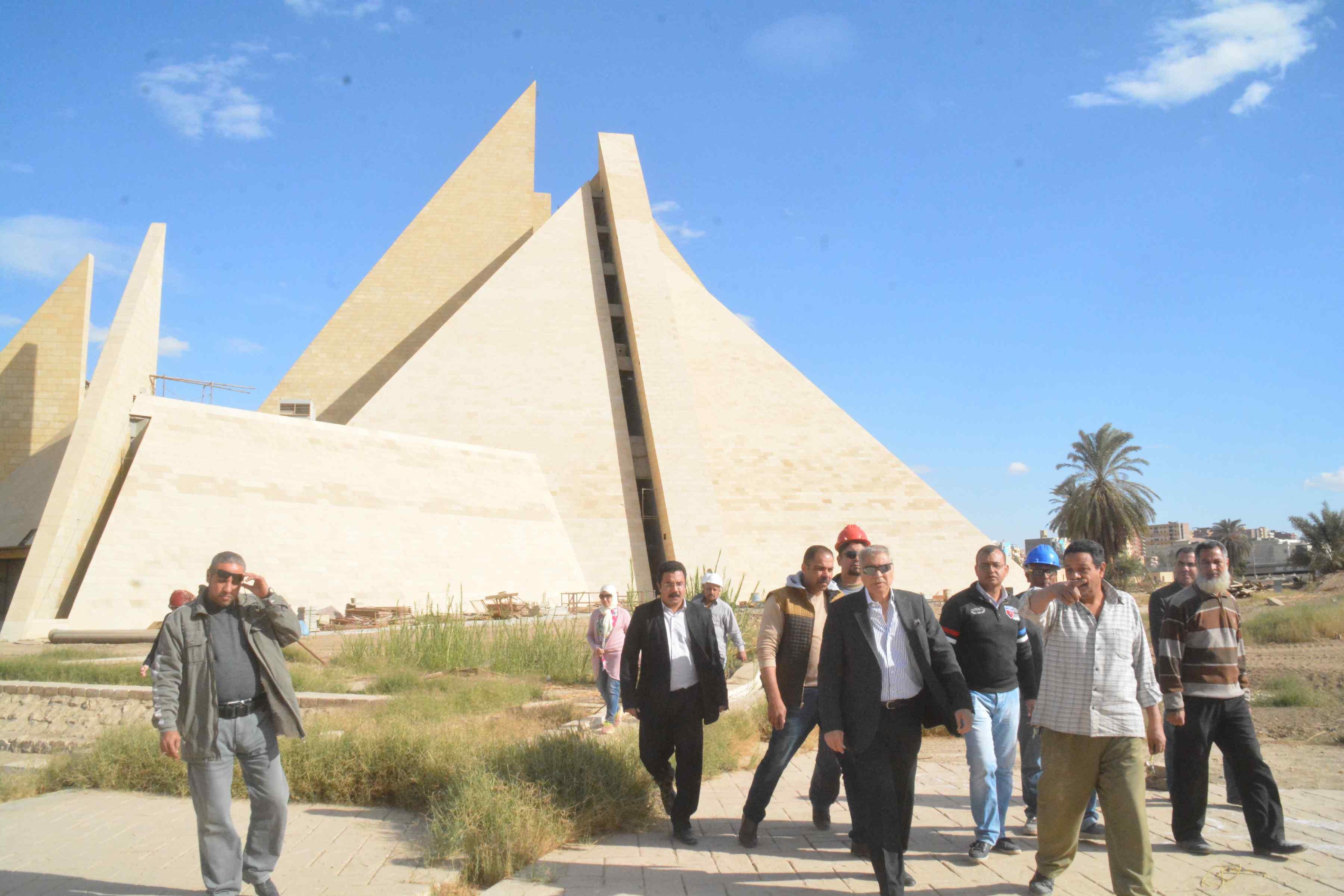 المتحف الأتونى بالمنيا يظهر للنور بإفتتاحة العام القادم