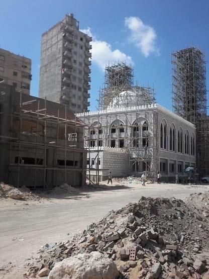 بناء 14 مسجدًا جديدًا على محور المحمودية بالإسكندرية