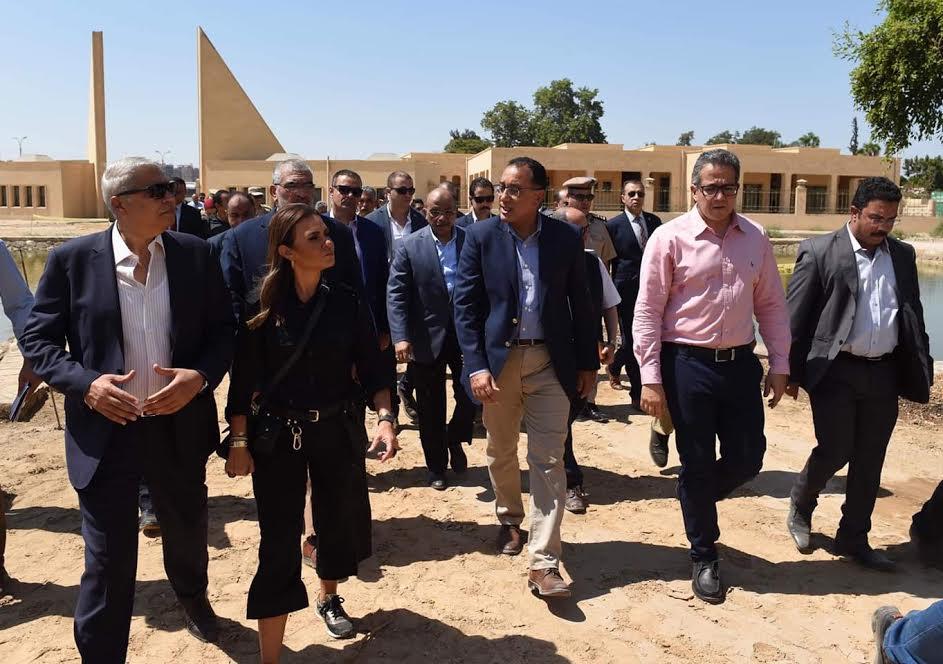 رئيس الوزراء يتفقد أعمال تنفيذ المتحف الآتوني بالمنيا ويوجه بسرعة استكمال وإنهاء المبنى