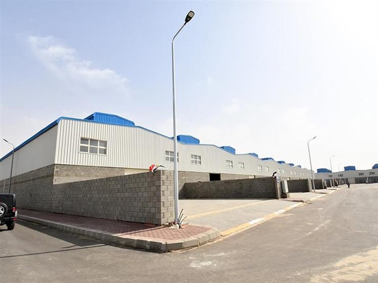 انتهاء طرح 256 وحدة صناعية ضمن خطط المجمعات الصناعية بالعاشر من رمضان