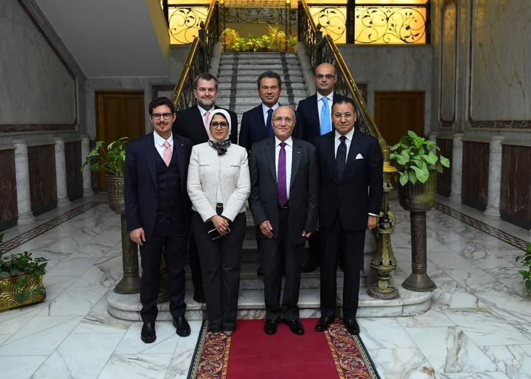 الحكومة المصرية تبحث مع السويسرية GK إقامة مستشفيات متنقلة