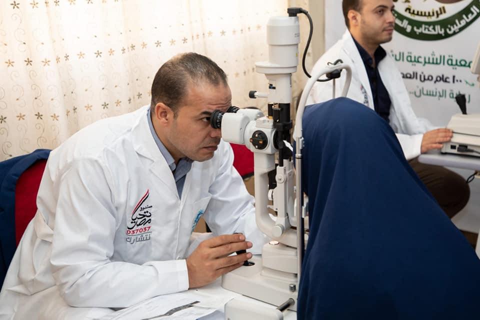 """صندوق تحيا مصر: قوافل """"نور حياة"""" تجري الكشف الطبي على العيون لمواطني 15 محافظة"""