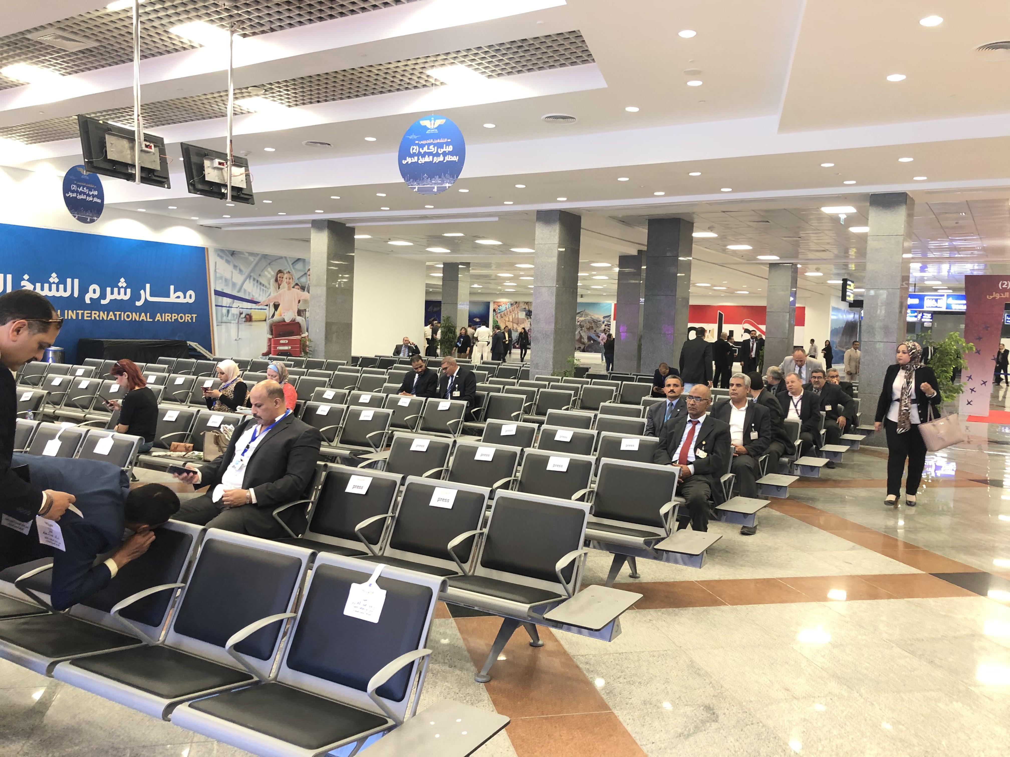 مطار شرم الشيخ يستعد لإفتتاح مبنى الركاب رقم 2