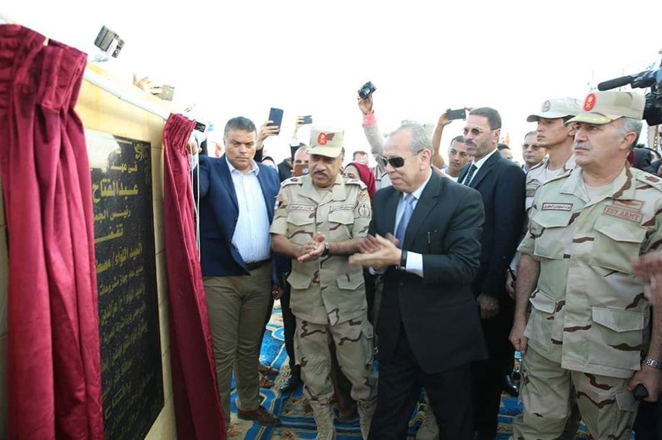 محافظ كفرالشيخ يفتتح المرحلة الأولى من مشروع استخلاص الركاز من الرمال السوداء