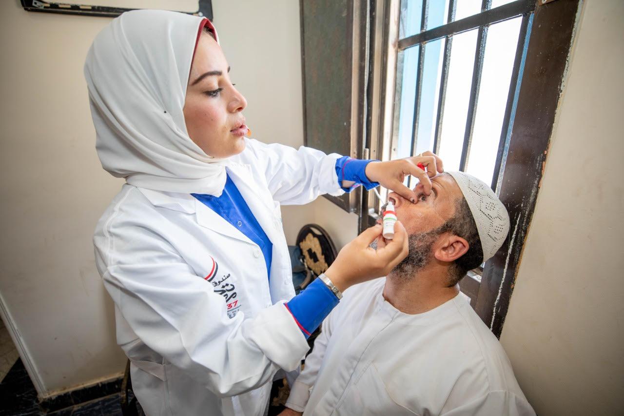 صندوق تحيا مصر: الكشف على 300 ألف طالب في مبادرة مكافحة مسببات ضعف الإبصار والنظارات بالمجان