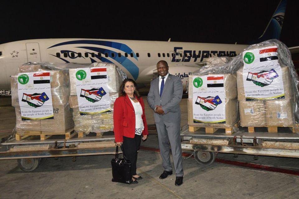 مصر ترسل مساعدات إلى 30 دولة إفريقية