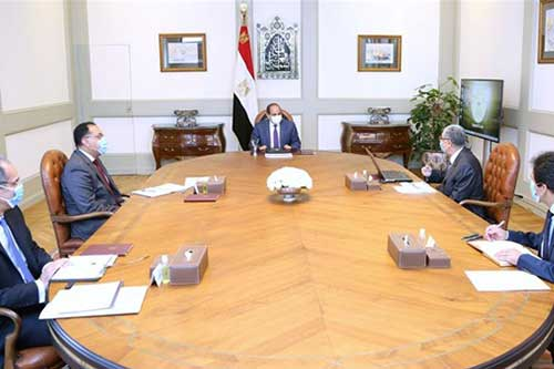 السيسي يتابع تطورات مشروع الضبعة مع رئيس الوزراء ووزير الكهرباء