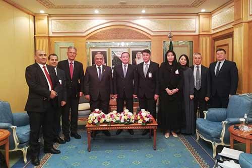 مصر وكازاخستان يبحثان سبل التعاون الزراعي المشترك