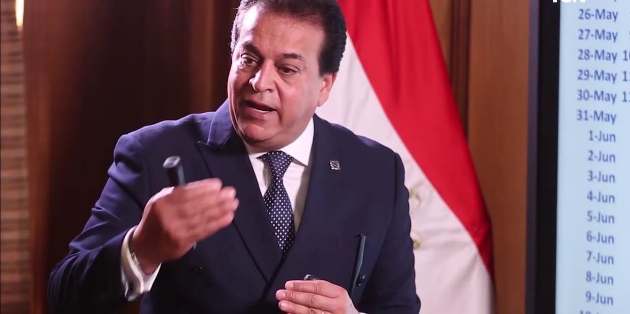 وزير التعليم العالى: تخصيص 5.8 مليار جنيه لبنية تحتية جديدة للجامعات الحكومية