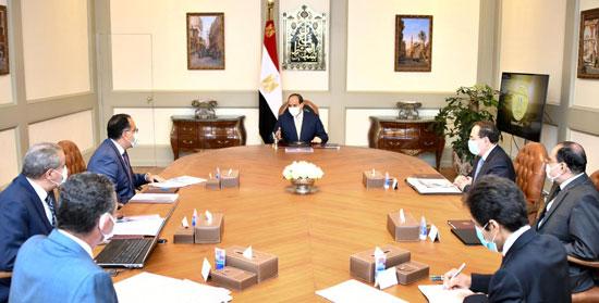الرئيس السيسى يوجه بإنشاء مدينة متكاملة لصناعة وتجارة الذهب