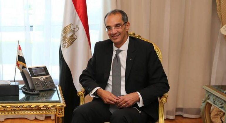 """وزير الاتصالات: رقم قومى لكل عقار فى مصر و""""ميكنة"""" تراخيص البناء والهدم"""