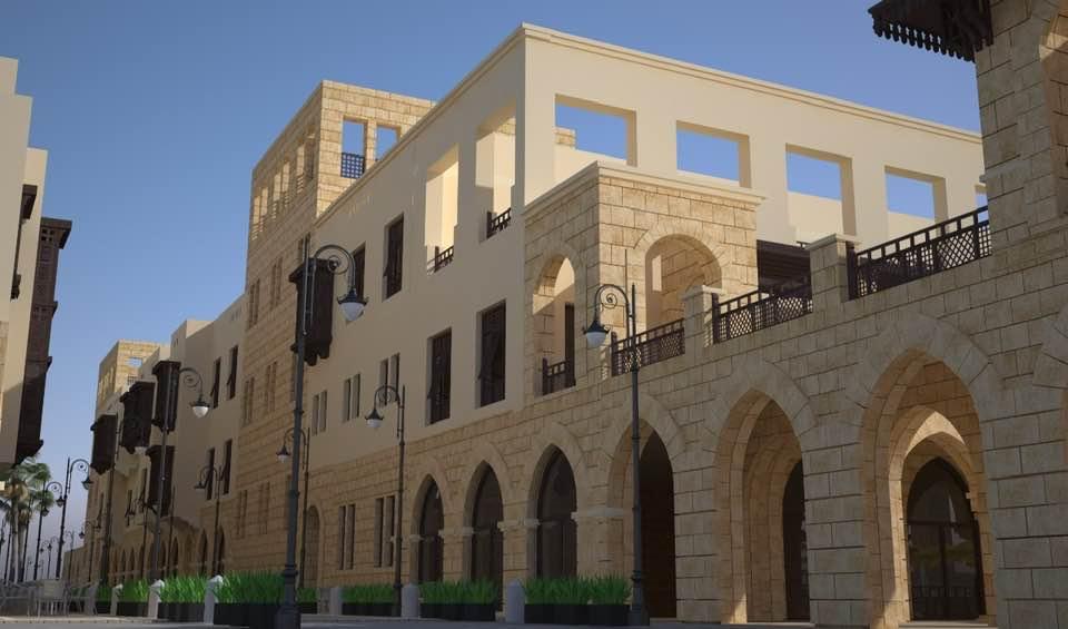 الحكومة تستعرض صور لشكل منطقة سور مجرى العيون بعد التطوير 