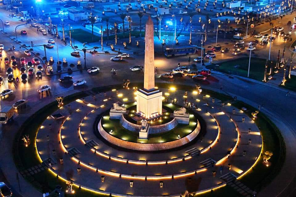 شاهد ميدان التحرير بعد تطويره ينافس أجمل ميادين العالم