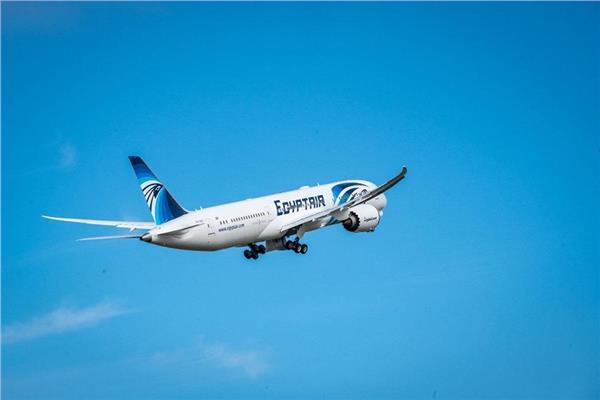"""""""مصر للطيران"""" تسير 59 رحلة دولية وداخلية وشحن جوى لنقل 5183 راكبا"""