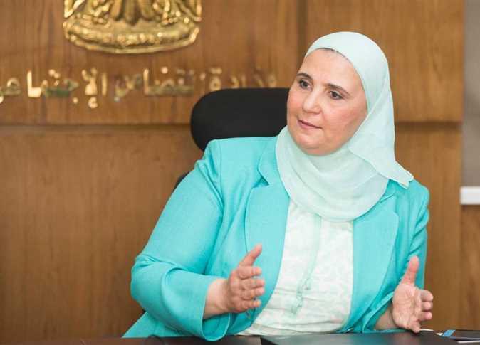 وزيرة التضامن عن مساندة الرئيس للمرأة: «لازم نستغل الفرص اللى معانا»