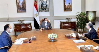 الرئيس السيسي يوجه بالإسراع فى تنفيذ مشروعات إمدادات تغذية كهرباء سيناء