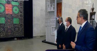 اعرف مقتنيات المتحف القومى للحضارة بالفسطاط بعد افتتاح الرئيس السيسي.. صور