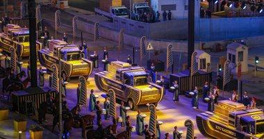 """وزير السياحة اليونانى: """"موكب المومياوات"""" حدث عظيم ومدهش ودعاية جيدة للسياحة لمصر"""