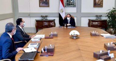 """الرئيس السيسي يوجه بالإسراع فى جهود تنفيذ مبادرة """"مصر الرقمية"""""""