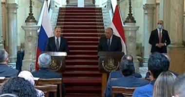 سامح شكرى: مصر أبدت مرونة كبيرة فى ملف سد النهضة وحصتنا المائية أمر وجودى