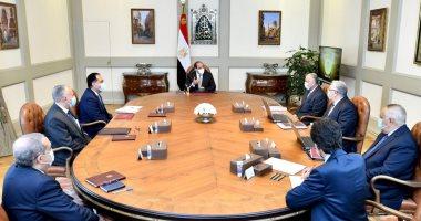 الرئيس السيسى يتابع جهود تطوير منظومة إدارة مياه الرى بالأراضى الزراعية