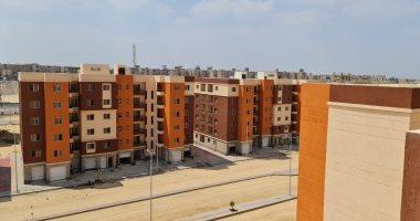"""الإسكان: 75٪ نسبة إنجاز """"عمارات السلام"""" للسكن البديل بمدينة العبور"""