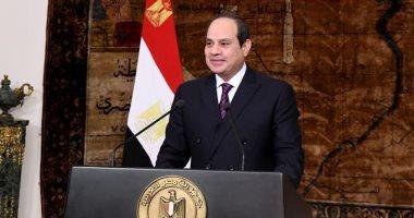 الرئيس السيسى فى ذكرى تحرير سيناء: الأرض لنا هي العرض والشرف والكرامة وقدس الأقداس
