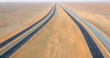 تفاصيل تطوير الطريق الصحراوى الغربى بالمنيا بـ26 مليار جنيه × 12 معلومة