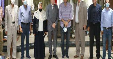 محافظ جنوب سيناء ورئيس هيئة المياه يتابعان خطة تنفيذ المشروعات القومية