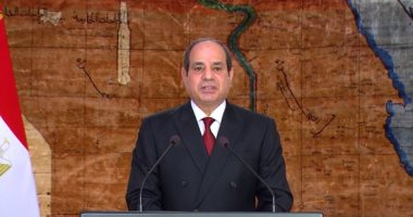 الرئيس السيسى: ثورة 30 يونيو نموذج فريد فى تاريخ الثورات الشعبية