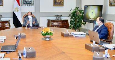 الرئيس السيسى يوجه بمواصلة العمل على زيادة المخصصات المالية للاستثمارات العامة