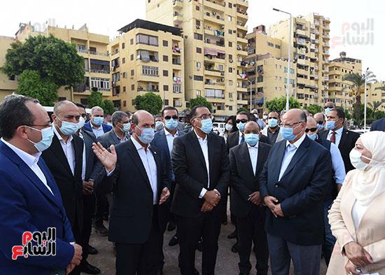رئيس الوزراء: توجيهات من الرئيس بضغط المخطط الزمنى لتنفيذ مشروع حدائق الفسطاط.