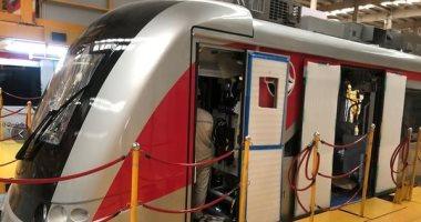 القومية للأنفاق تستقبل أولى قطارات مشروع القطار الكهربائى الشهر المقبل