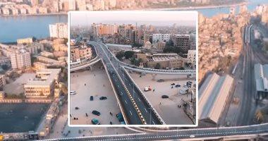 محافظة سوهاج شكل تانى بعد افتتاح كوبرى الثقافة بتكلفة 300 مليون جنيه