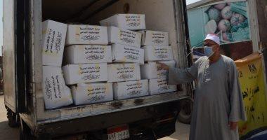 الأوقاف تبدأ توزيع 130 طن لحوم صكوك أضاحى فى 25 محافظة بعد صلاة الجمعة