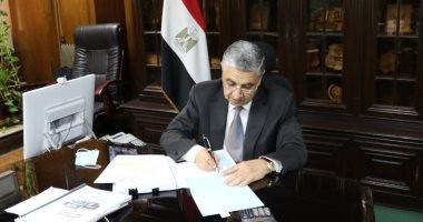 وزير الكهرباء يشهد مراسم الاحتفال لبدء تصنيع أول معدة طويلة الأجل لمحطة الضبعة
