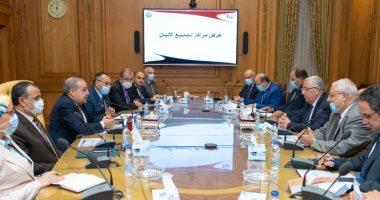 وزيرا الإنتاج الحربى والزراعة يتابعان تنفيذ مشروع تطوير مراكز تجميع الألبان